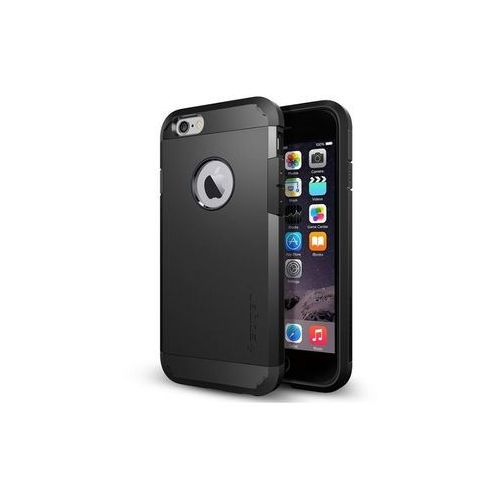 Apple iPhone 6s - etui na telefon Spigen Tough Armor - czarny, kolor czarny