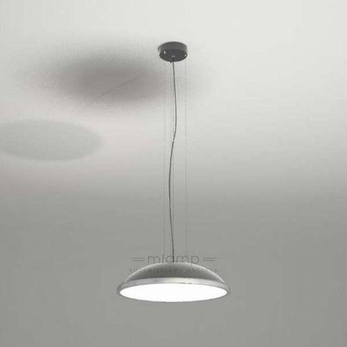 Shilo Wisząca lampa minimalistyczna wanto 5521-b/e27/sz okrągła oprawa zwis szary
