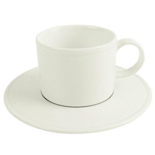 Spodek do filiżanki sztaplowanej śr. 15 cm line marki Porland - porcelana gastronomiczna