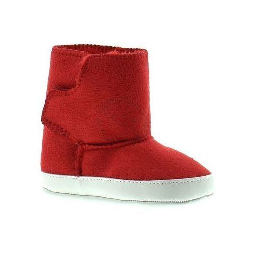 Buciki zimowe dla dzieci Apawwa Y121 - Czerwony, kolor czerwony