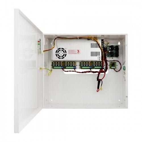 PSUPS20A12E PSUPS 13,8V/12V/20A/65Ah zasilacz buforowy, impulsowy, do 16 kamer i rejestratora