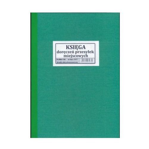 Księga doręczeń przesyłek miejscowych [Pu/Wkt-140]