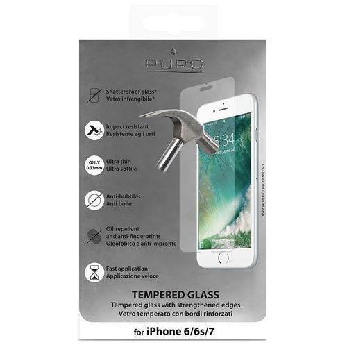 szkło ochronne hartowane na ekran iphone 8 / 7 / 6s / 6 marki Puro