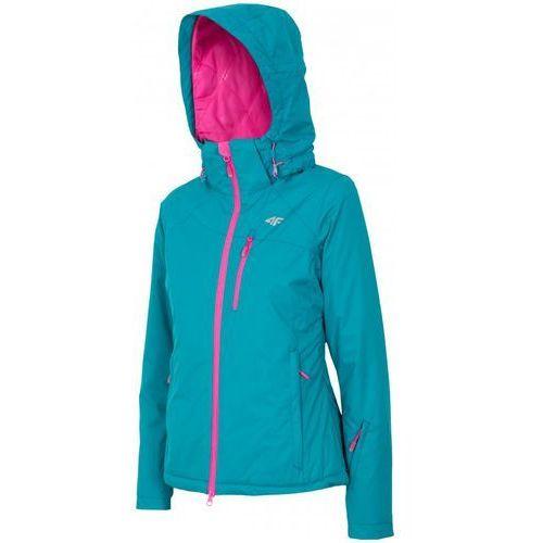 Kurtka narciarska damska 4F KUDN006 roz L - Morski L, kolor zielony