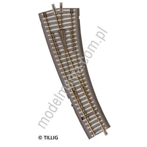 Rozjazd łukowy prawy ibw  83861 marki Tillig