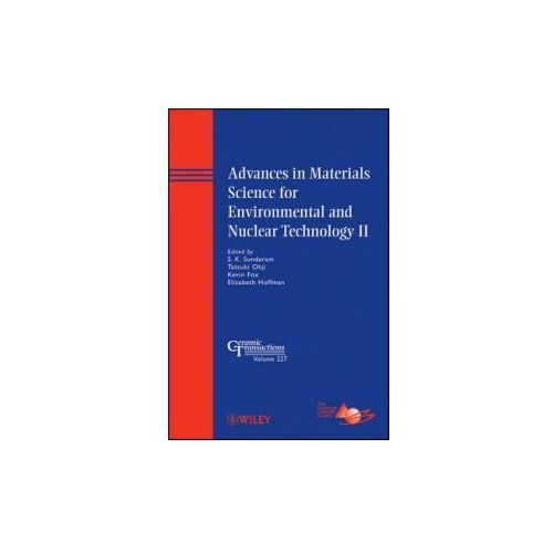 Advances in Materials Science for Environmental and Nuclear Technology II (9781118060001)