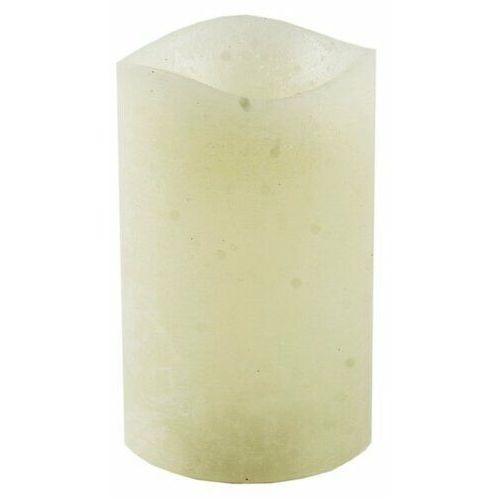 4-home Świeczka led powlekana woskiem 7,6 x 12 cm, kremowy