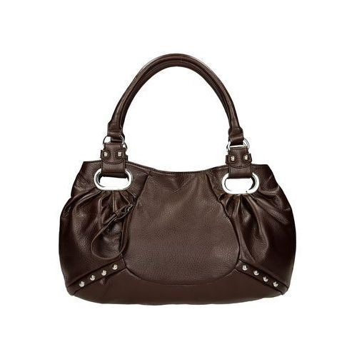 Torebka unica utr077 dark brown marki Fokus fashion