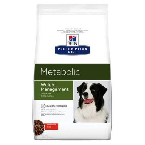 canine metabolic weight management - 2 x 12 kg marki Hills prescription diet