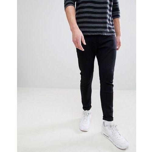 super skinny jeans in black - black, Bershka