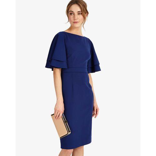 Phase Eight Daley Drape Dress, w 5 rozmiarach