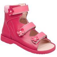 Trzewiki Profilaktyczne Ortopedyczne Buty DAWID 952 RC Różowe - Różowy ||Fuksja