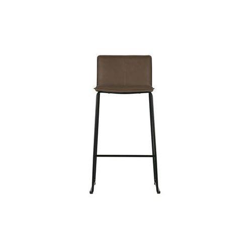 Woood krzesło barowe set of 2 brązowe 373573-b