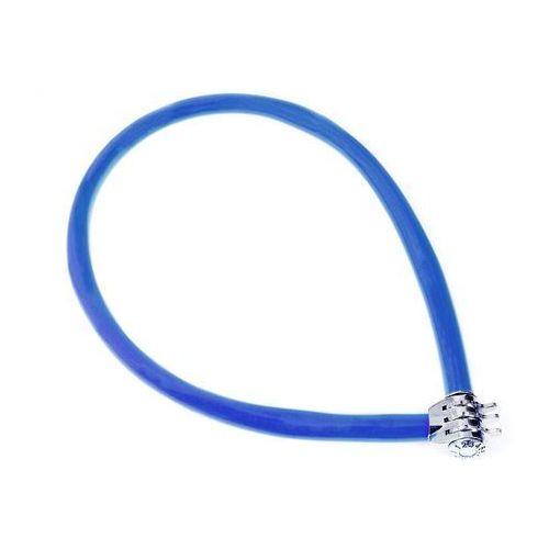 Zapięcie linka na szyfr Kryptonite Keeper 665 CC 6mm/65cm niebieski (2010000025598)