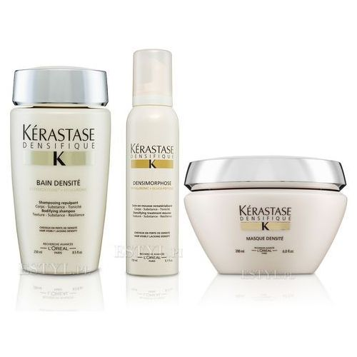 Kerastase Densifique Densite Zestaw | szampon 250ml + maska 200ml + pianka 150ml - sprawdź w wybranym sklepie