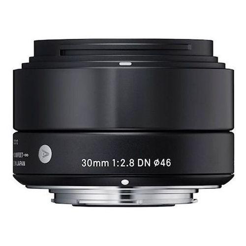Obiektyw SIGMA A 30/2.8 DN Sony-E Czarny + DARMOWY TRANSPORT! + Zamów z DOSTAWĄ JUTRO! - produkt z kategorii- Obiektywy fotograficzne