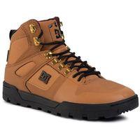 Sneakersy DC - Pure High-Top Wr Boot ADYB100006 Wheat/Black WEA, w 5 rozmiarach