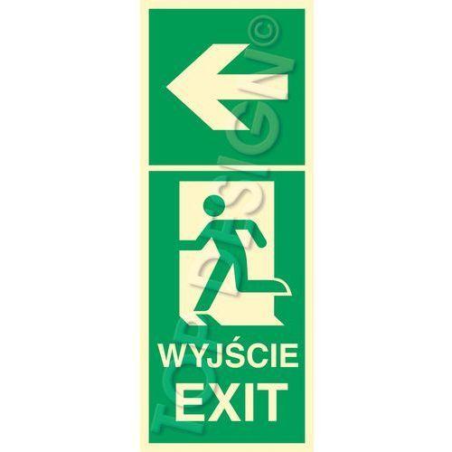 Kierunek do wyjścia w lewo lewostronny / left to exit left side marki Top design. Najniższe ceny, najlepsze promocje w sklepach, opinie.