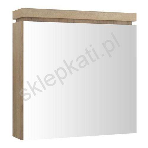 CERSANIT OLIVIA szafka łazienkowa wisząca z lustrem, kolor ORZECH S543-014, S543-014