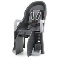 Fotelik dziecięcy na rower Polisport Guppy Maxi CFS - szaro/srebrny