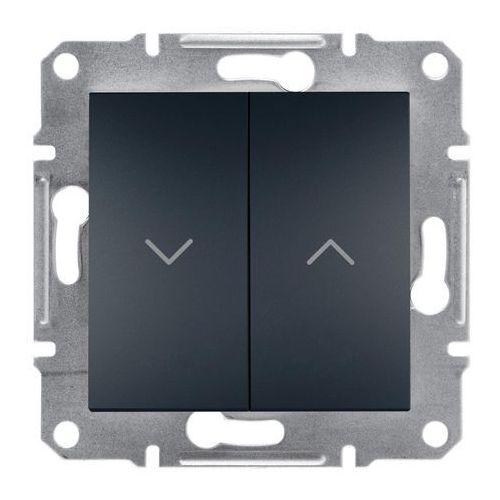 Przycisk żaluzjowy Schneider Electric Asfora antracyt, EPH1300371