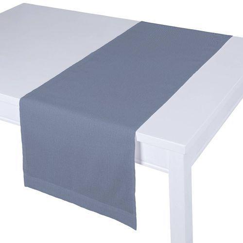 bieżnik prostokątny, niebiesko-szary, 40x130 cm, venice marki Dekoria