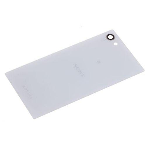 Oryginalna klapka baterii sony xperia z5 compact grade a biała marki Samsung