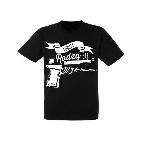 Koszulka Czarna Urodziny Listopad Łobuzy - URKC009-11