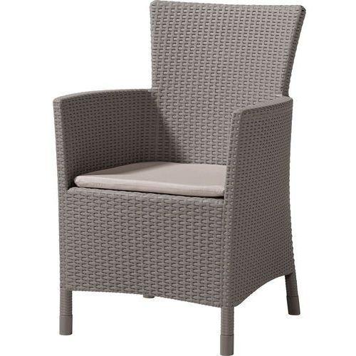 fotel iowa, kremowy marki Allibert