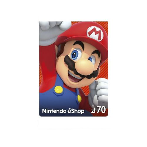 Nintendo Kod podarunkowy 70zł (4260354154880)