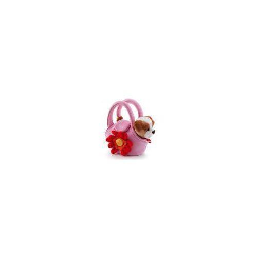 Piesek w różowej torebce z kwiatkiem (8006529297282)