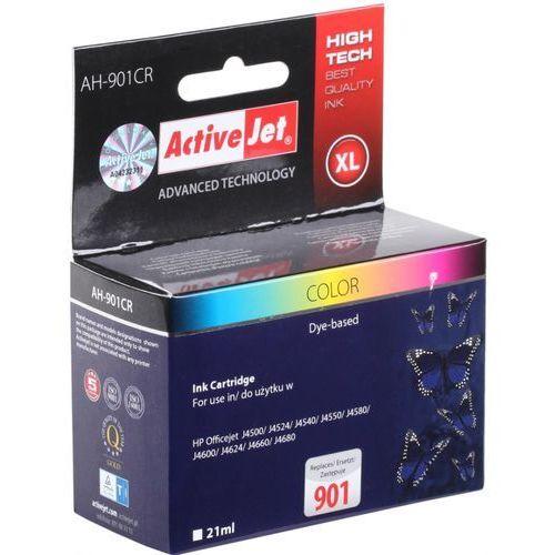 Tusz ActiveJet AH-901CR (AH-C56) kolorowy do drukarki HP - zamiennik HP 901 CC656AE, kolor Kolorowy