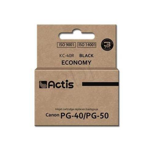 Tusz Actis KC-40R (do drukarki Canon, zamiennik PG-40/ PG-50 standard 25ml czarny)
