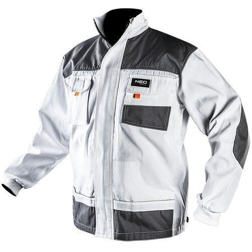 Bluza robocza NEO 81-110-LD HD Biały (rozmiar LD/54), 81-110-LD