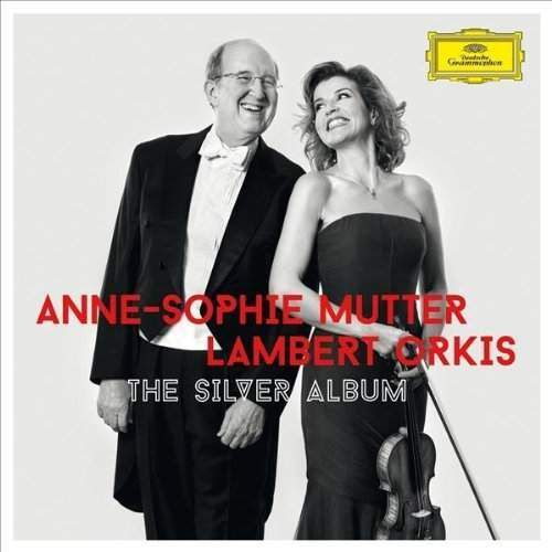 THE SILVER ALBUM - Anne Sophie Mutter (Płyta CD)