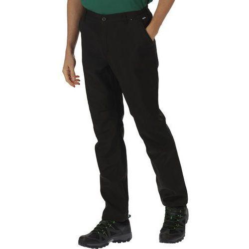 Regatta Fenton Spodnie długie Mężczyźni czarny 46 2018 Spodnie Softshell (5020436442552)