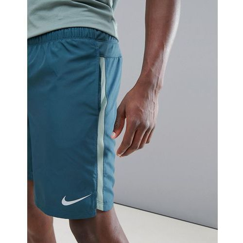 dry challenger 9 inch shorts in green 908800-328 - green, Nike running