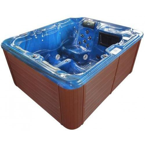 Sanotechnik Basen ogrodowy spa jacuzzi - model oasis, niebieski spa11 (9002827280697)
