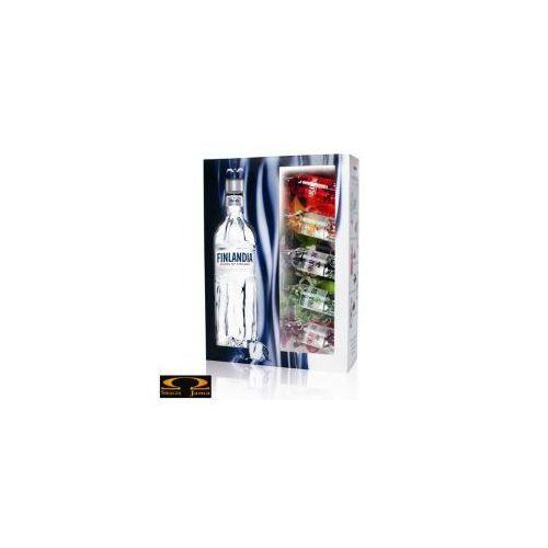 "Finlandia vodka Wódka finlandia ""bombonierka"" 0,5l + 5x mini (6412709121278)"