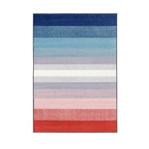 Dywan SIMP niebiesko-czerwony 80 x 120 cm (5901760131445)