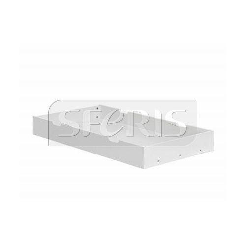 PINIO Marsylia Szuflada do łóżeczka 140x70 biała MDF - 700-214-010
