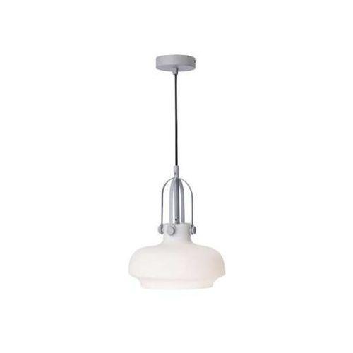 Light prestige Lampa wisząca fiano lp-3763/1p wh szklana oprawa industrialna zwis biały