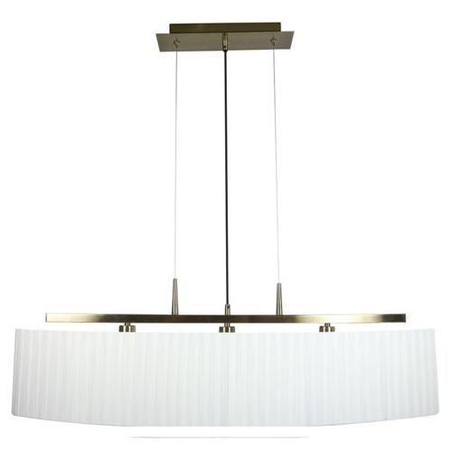 Candellux Lampa wisząca berg 3x40w e14 patyna + biały abażur 33-45188 (5906714845188)