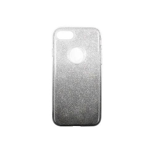Apple iPhone 7 - etui na telefon Forcell Shining - czarne ombre, ETAP403FLSGOBL000