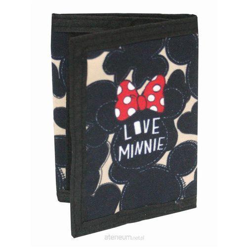Portfel czarny dla nastolatków Minnie Love - MST Toys (3850289023057)