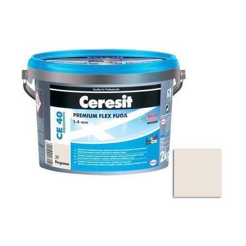 Fuga cementowa WODOODPORNA CE40 pergamon 2 kg CERESIT (5900089217151)
