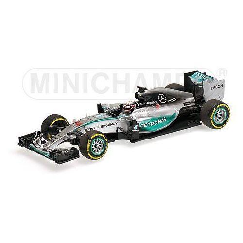Minichamps Mercedes amg petronas f1 team w06 hybrid #44 lewis hamilton winner belgian gp 2015 (4012138131651)