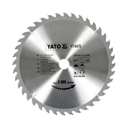 Yato Tarcza widiowa 300x40tx30 mm yt-6076 - zyskaj rabat 30 zł (5906083960765)