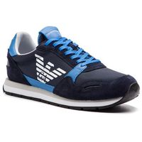 Sneakersy - x4x215 xl198 a584 blue/limoges/night, Emporio armani, 40-45