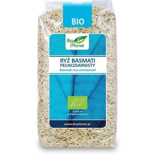 Bio Planet: ryż basmati pełnoziarnisty BIO - 500 g, 2226